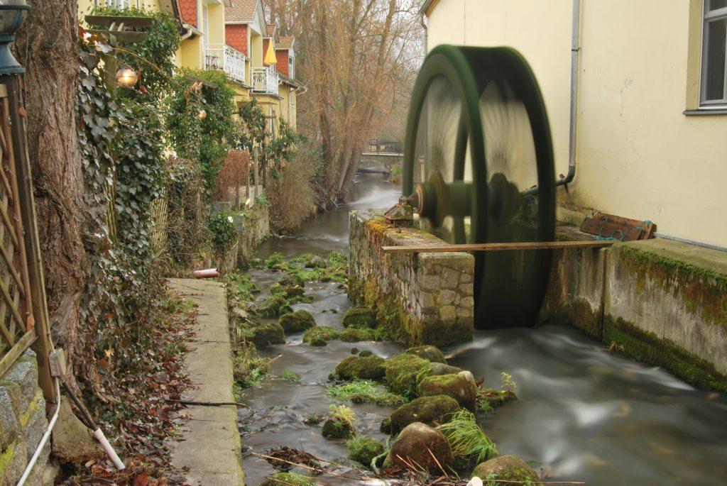 Wasserrad am Stöbber